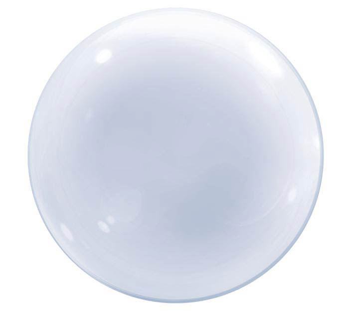 "20""CLEAR DECO BUBBLE"