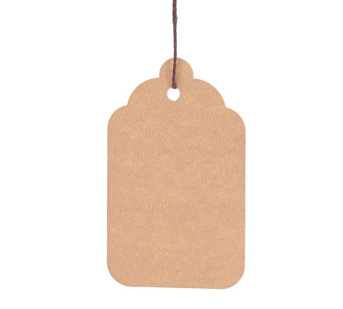#8 KRAFT MERCH TAG