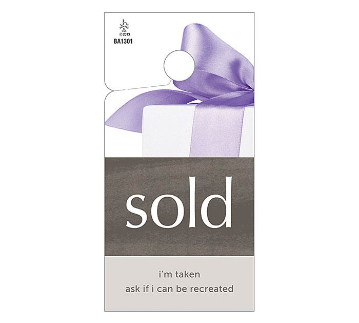 FLORAL- SOLD TAG