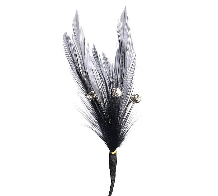 FLORAL BLACK SWAN