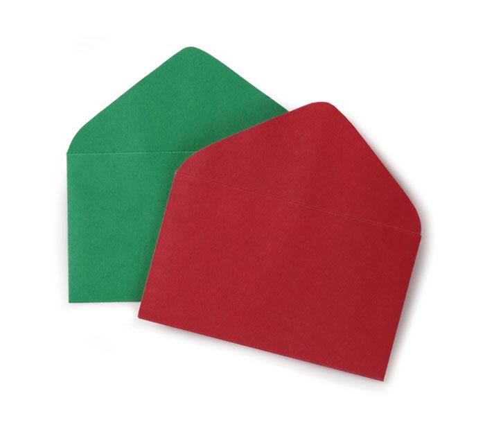 #63 ENVELOPE RED  GREEN ASSORTMENT