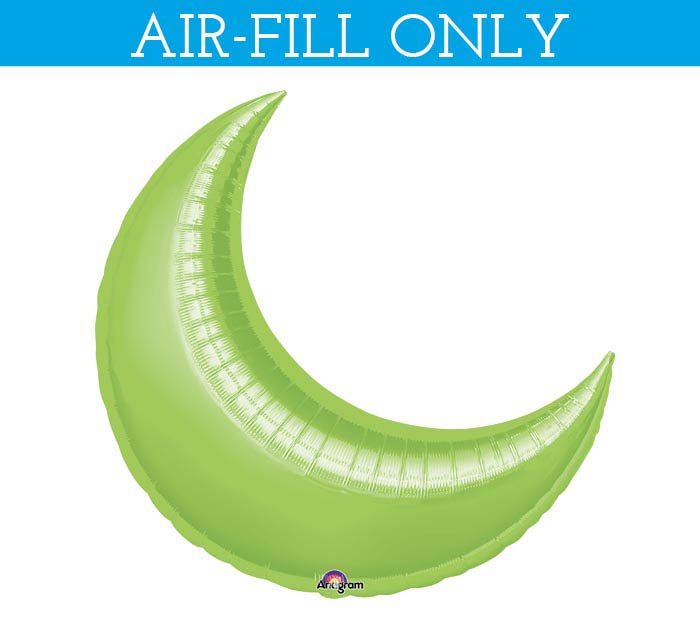 "17""SOL LIME CRESCENT"