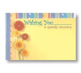 ENCL CARD GET WELL SOON DAISY