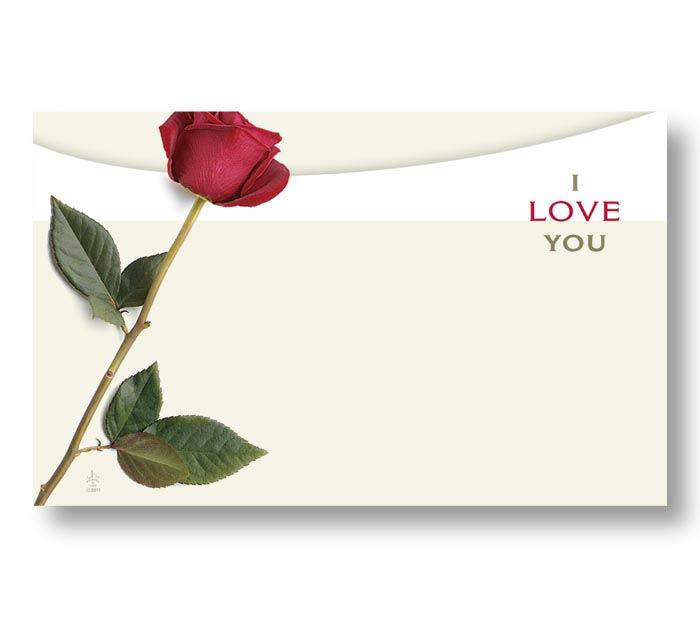 ENCL CARD- ILY ROSE