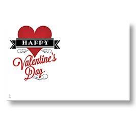 ENCL CARD HVD VINTAGE VALENTINE