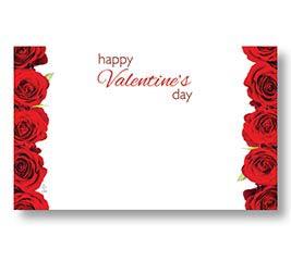ENCL CARD HVD RED ROSES
