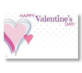 ENCL CARD HVD PINK HEART