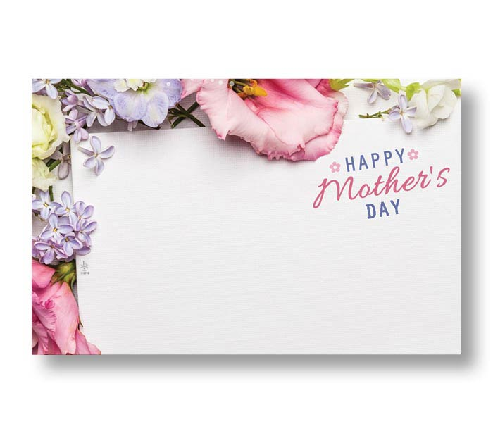 ENCL CARD MOTHER'S DAY FLOWERS