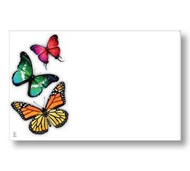 ENCL CARD BUTTERFLIES