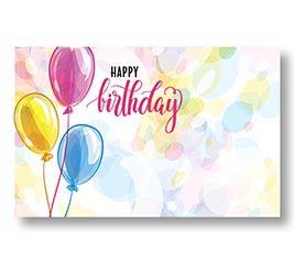 ENCL CARD BIRTHDAY BALLOONS