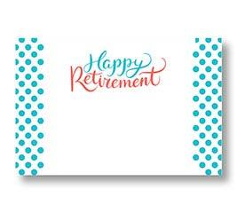 ENCL CARD HAPPY RETIREMENT