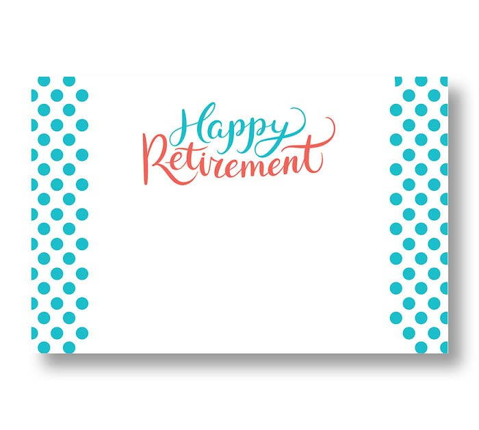 ENCL CARD HAPPY RETIREMENT