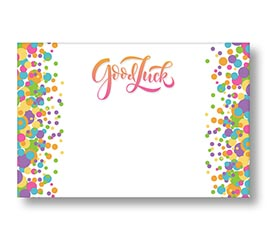 ENCL CARD GOOD LUCK