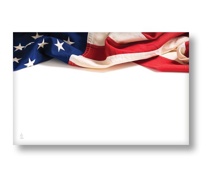 ENCL CARD USA FLAG
