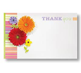 ENCL CARD THANK YOU