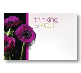 ENCL CARD THINKING OF YOU
