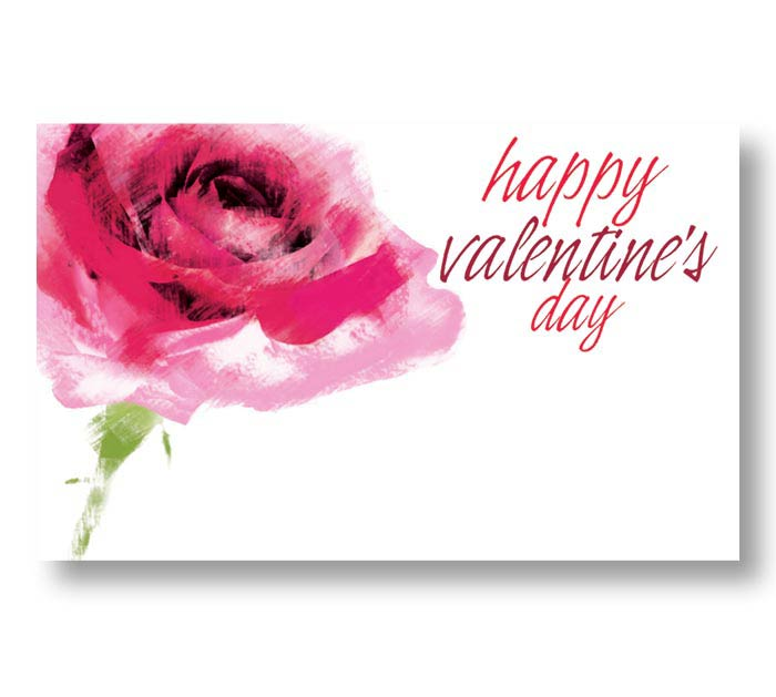 ENCL CARD HVD ROSE