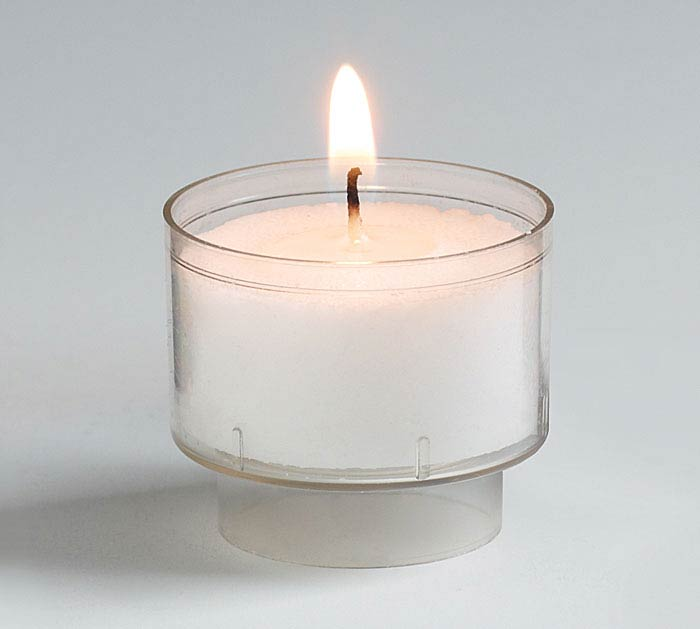 CANDLE WHITE 7 HOUR TEALIGHT
