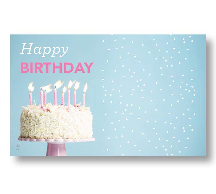 ENCL CARD HBD LET THERE BE CAKE