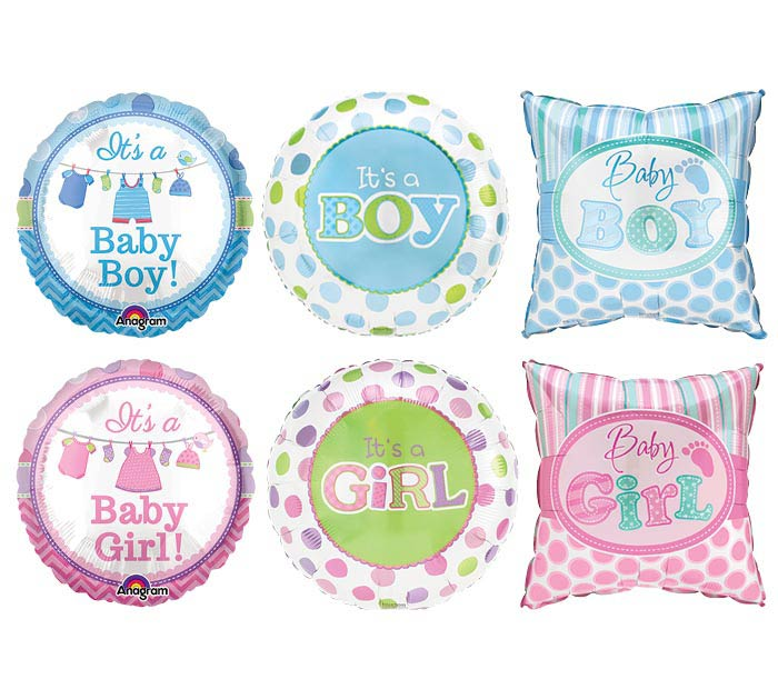 "4"" AIR-FILLED BABY ASSORTMENT"