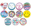"4"" AIR-FILLED GENERAL MESSAGE ASSORTMENT"