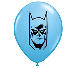 "5"" BATMAN FACE QUALATEX"