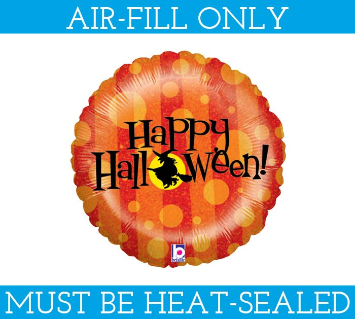 "9""FLAT HALLOWEEN MINI SHAPE BALLOON"
