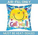 "9""FLAT GET WELL SOON MINI SHAPE BALLOON"