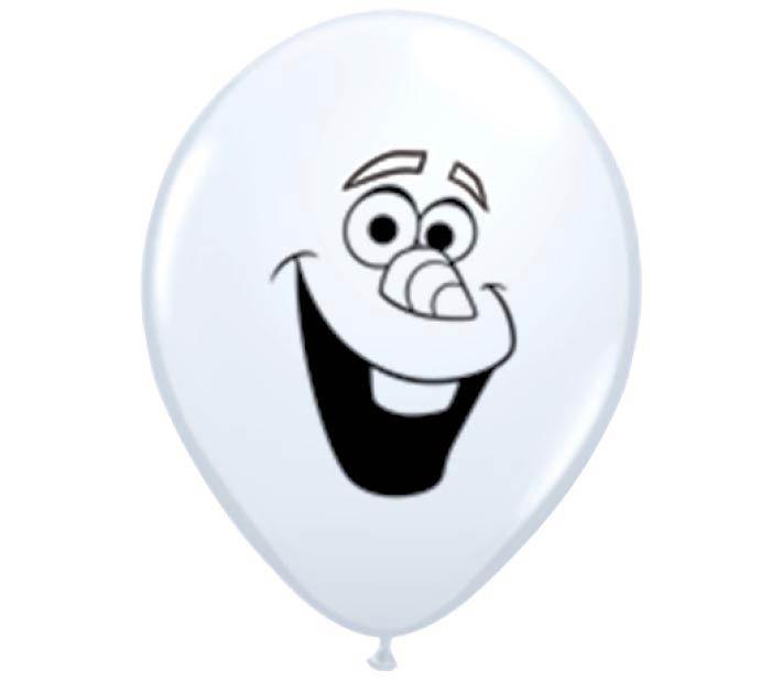 "5"" OLAF FACE QUAL"