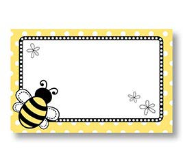 ENCL CARD BEE DAYS