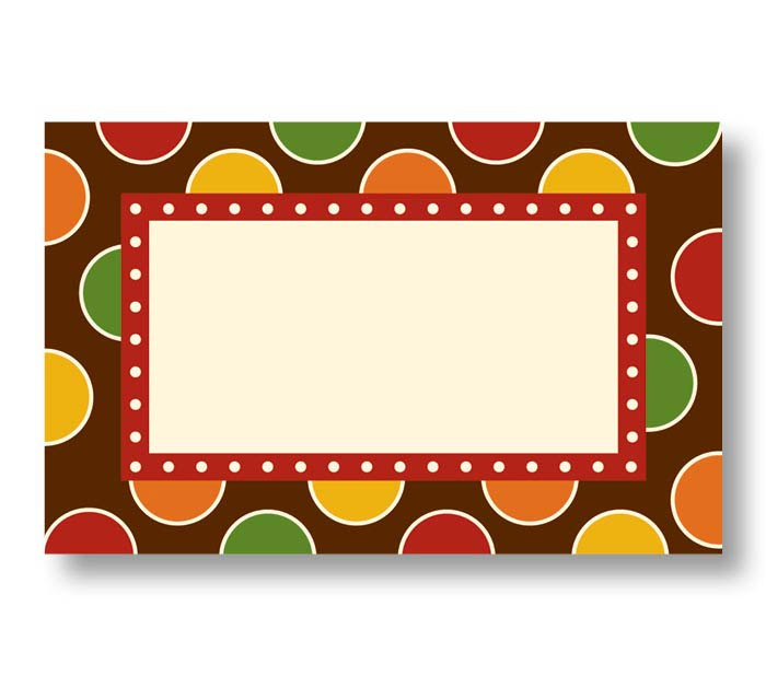 ENCL CARD FALL DOTS