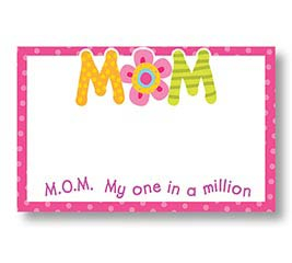 ENCL CARD MOM ONE IN A MILLION
