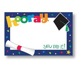 ENCL CARD GRA HOORAY