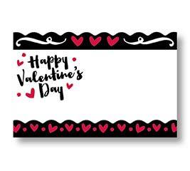 ENCL CARD HVD ROMANC