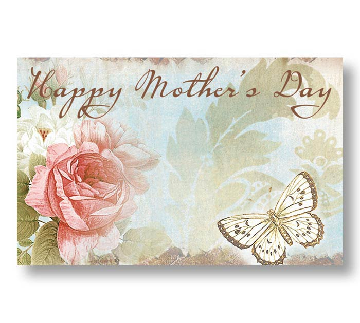 ENCL CARD HAPPY MOTHERS DAY ROSABELLA