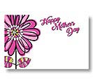 ENCL CARD HMD SKETCHED FLOWERS