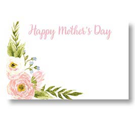ENCL CARD HAPPY MOTHER'S DAY FLORAL LOVE