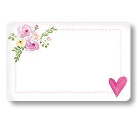 ENCL CARD JUST LOVELY ROSES AND HEART