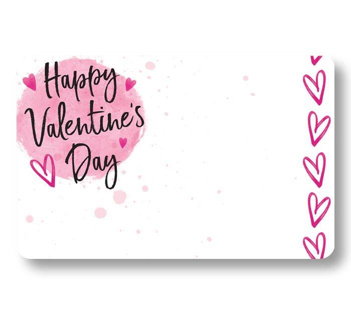 HAPPY VALENTINE'S DAY ENCLOSURE CARD