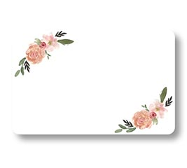 """Coventry Garden Flowers Enclosure Card #63  2 1//2/"""" X 4 1//2/"""" Gift Supply 50 Pack"""