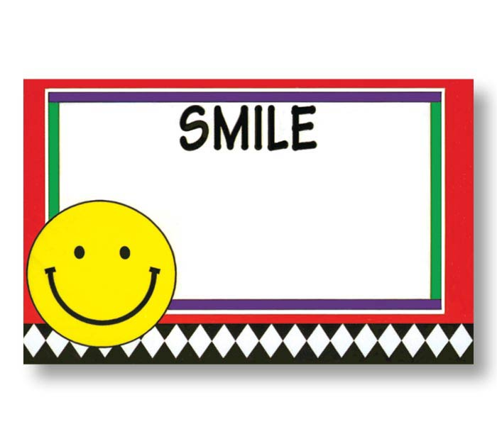 ENCL CARD SMILE FACE