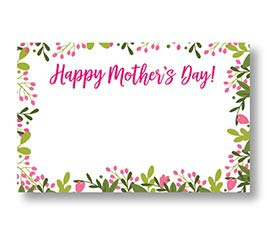 ENCL CARD HAPPY MOTHERS DAY BELLA MADRE