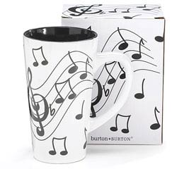 JAZZ IT UP CERAMIC MUG W/ BOX