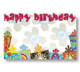 ENCL CARD HBD GIFTS