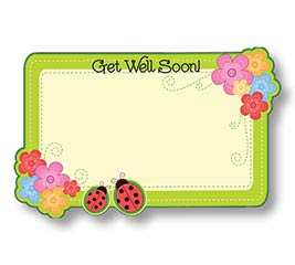 ENCL CARD GET WELL SOON