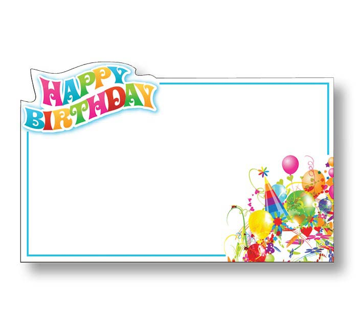 ENCL CARD BIRTHDAY