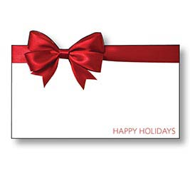 ENCL CARD HAPPY HOLIDAYS