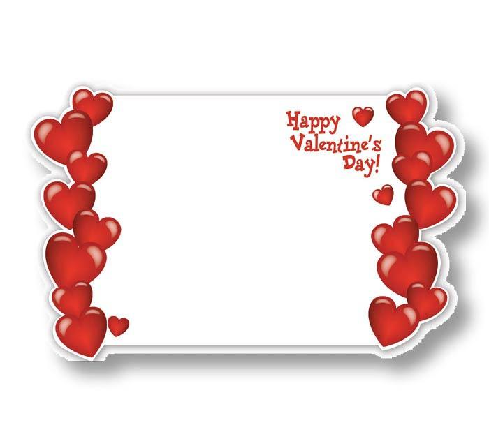 ENCL CARD HVD VALENTINE HEARTS
