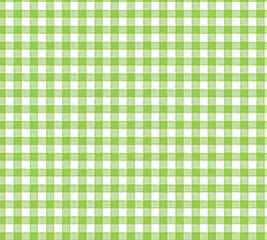 20X20 CELLO GREEN COUNTRY GINGHAM