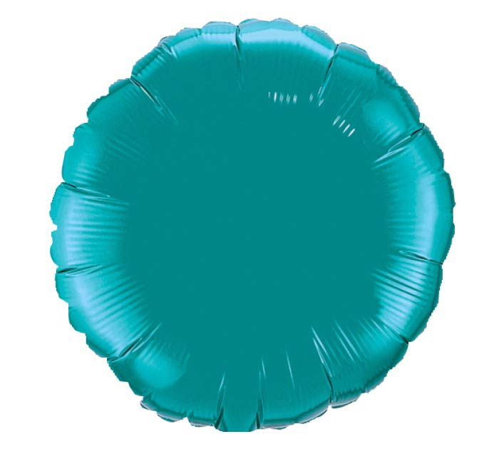 "18""SOL TEAL ROUND"